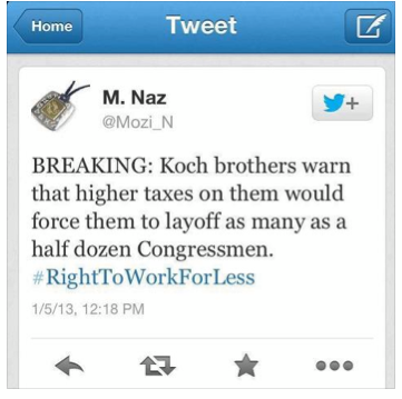 koch brotherd tweet